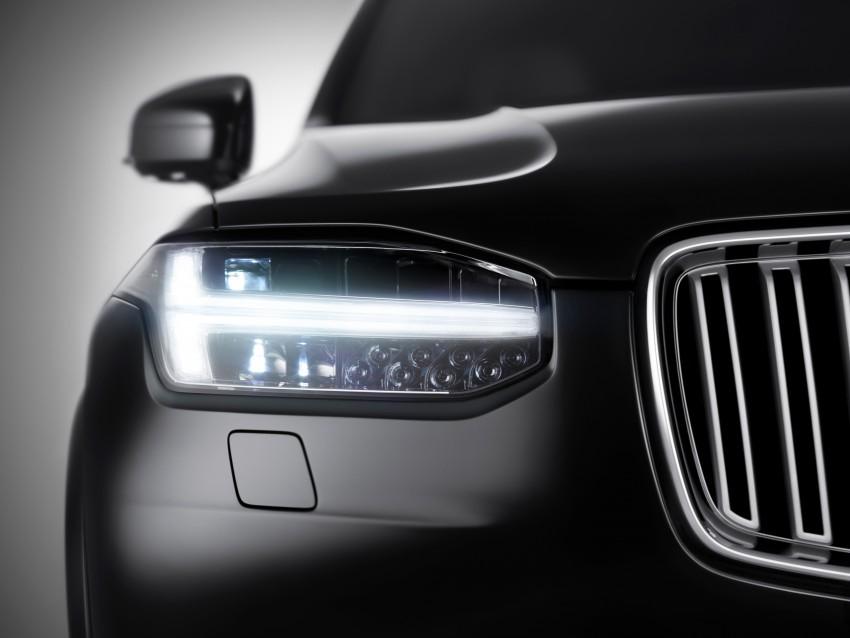 "2015 Volvo XC90 headlights teased – ""Thor's Hammer"" Image #263175"