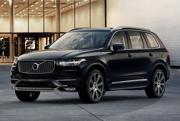 2015 volvo xc90 second gen 7 seat suv unveiled. Black Bedroom Furniture Sets. Home Design Ideas