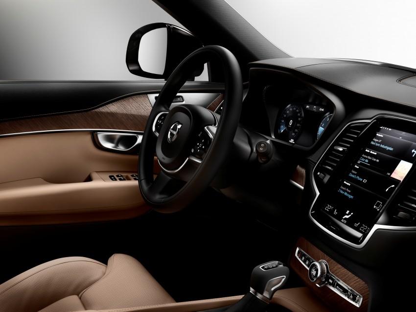 2015 Volvo XC90 – second-gen 7-seat SUV unveiled Image #266343