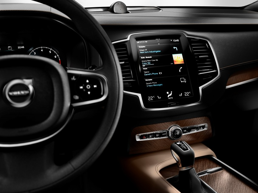 2015 Volvo XC90 – second-gen 7-seat SUV unveiled Image #266346