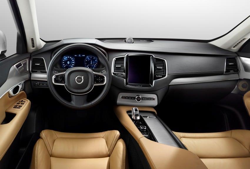 2015 Volvo XC90 – second-gen 7-seat SUV unveiled Image #266370