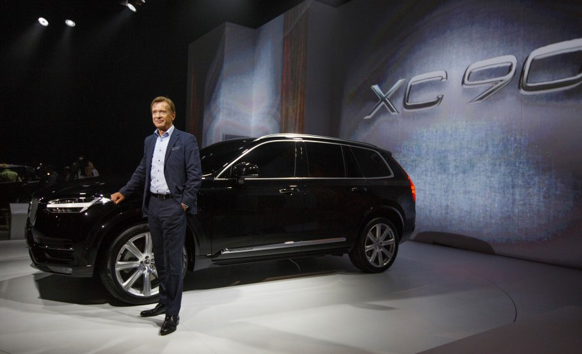 2015 Volvo XC90 – second-gen 7-seat SUV unveiled Image #266306