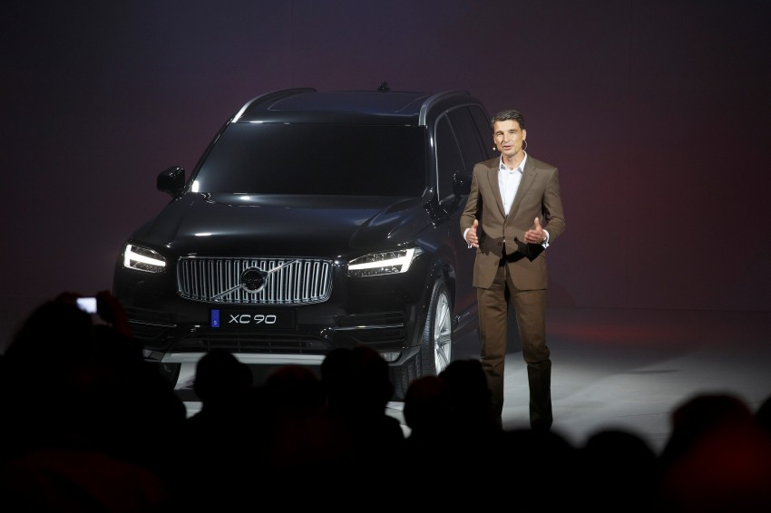2015 Volvo XC90 – second-gen 7-seat SUV unveiled Image #266307
