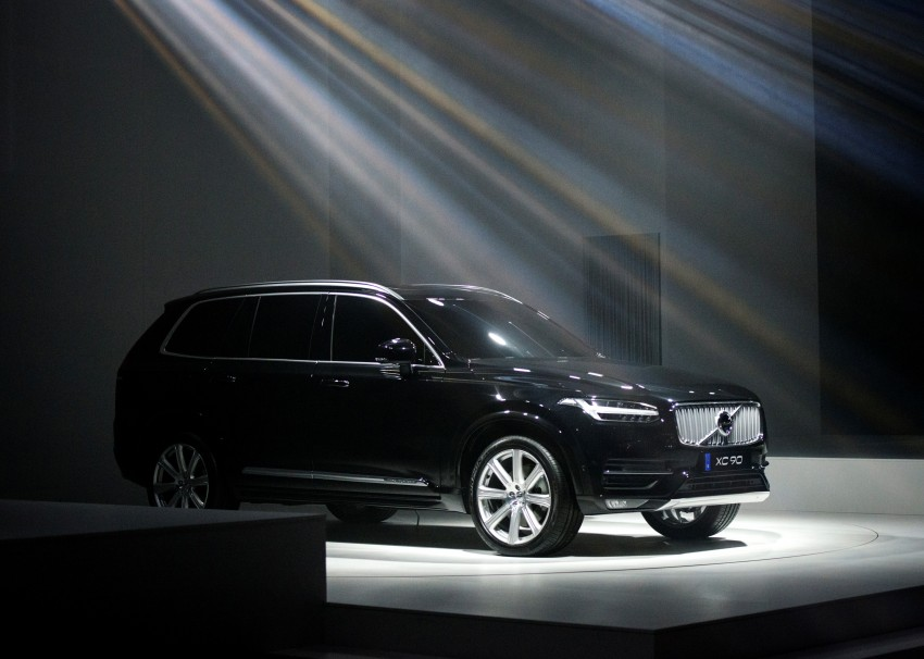 2015 Volvo XC90 – second-gen 7-seat SUV unveiled Image #266308