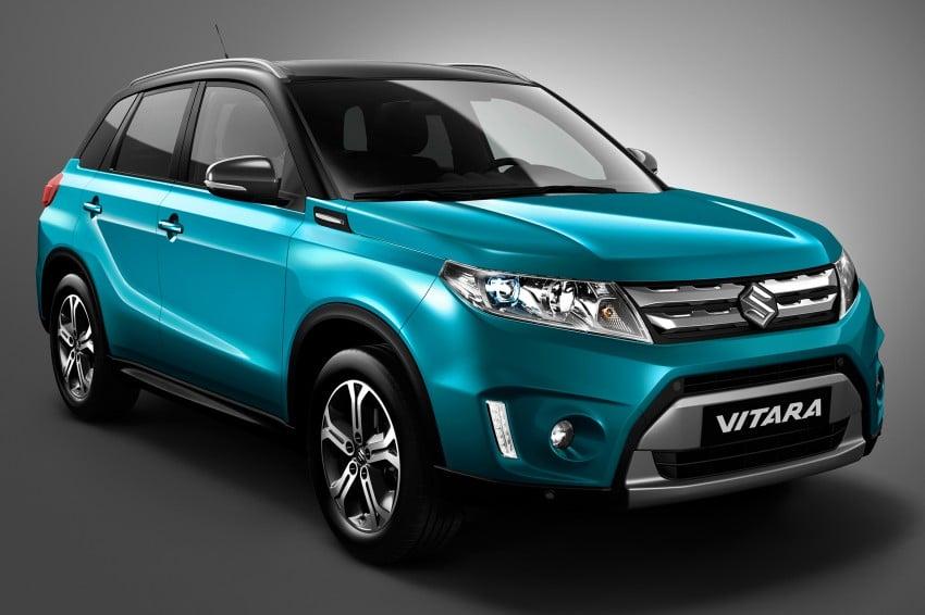 2015 Suzuki Vitara – new small SUV set for Paris debut Image #266851