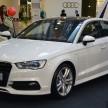 Audi A3 Sedan 1U display 1