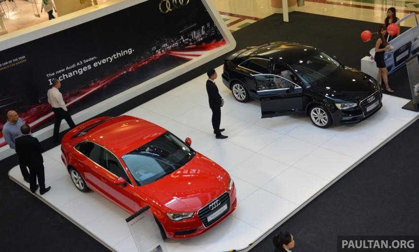 Audi A3 Sedan – on show at 1 Utama until August 10 Image #262037