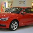 Audi A3 Sedan 1U display 3