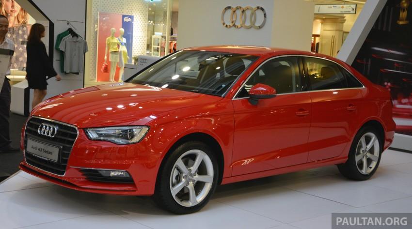 Audi A3 Sedan – on show at 1 Utama until August 10 Image #262044