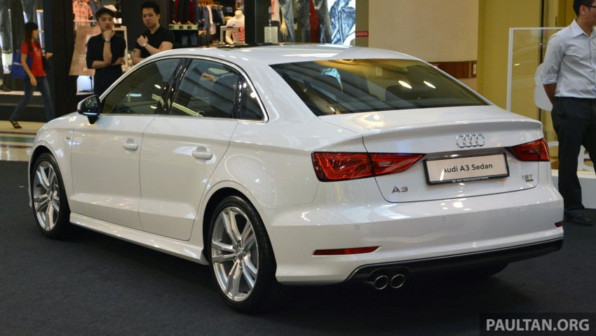 Audi A3 Sedan – on show at 1 Utama until August 10 Image #262043