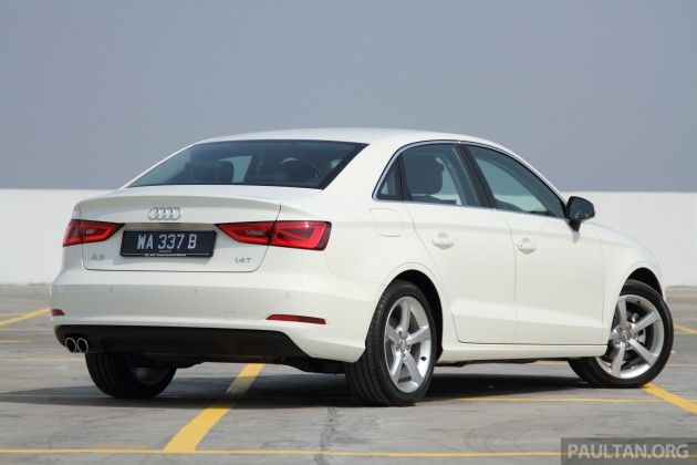 Audi A3 Sedan launched  two variants from RM180k