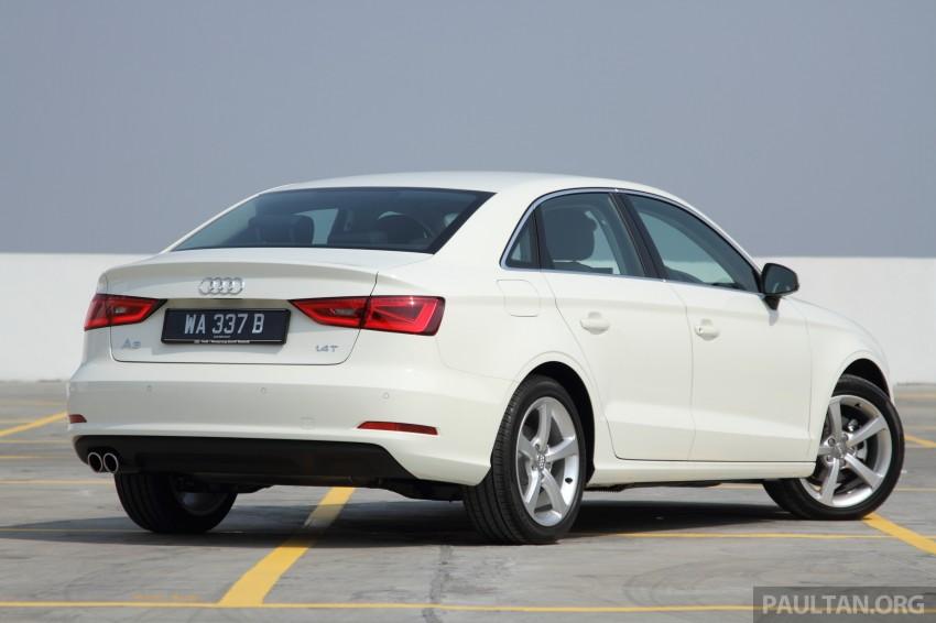 Audi A3 Sedan now on sale – 2 variants, from RM180k Image #261462