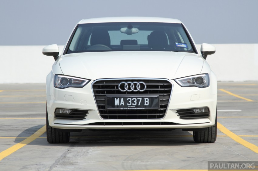 Audi A3 Sedan now on sale – 2 variants, from RM180k Image #261463