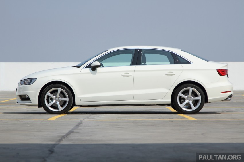 Audi A3 Sedan now on sale – 2 variants, from RM180k Image #261465