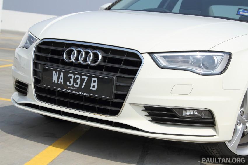 Audi A3 Sedan now on sale – 2 variants, from RM180k Image #261466
