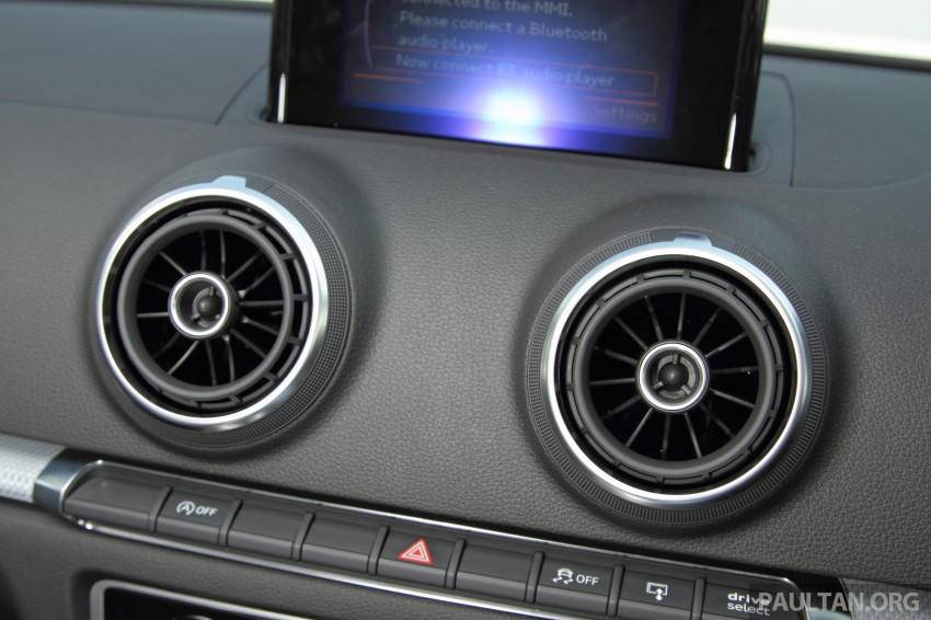 Audi A3 Sedan now on sale – 2 variants, from RM180k Image #261473