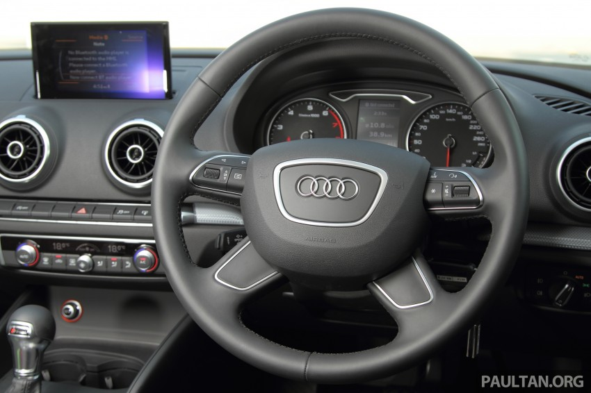 Audi A3 Sedan now on sale – 2 variants, from RM180k Image #261474