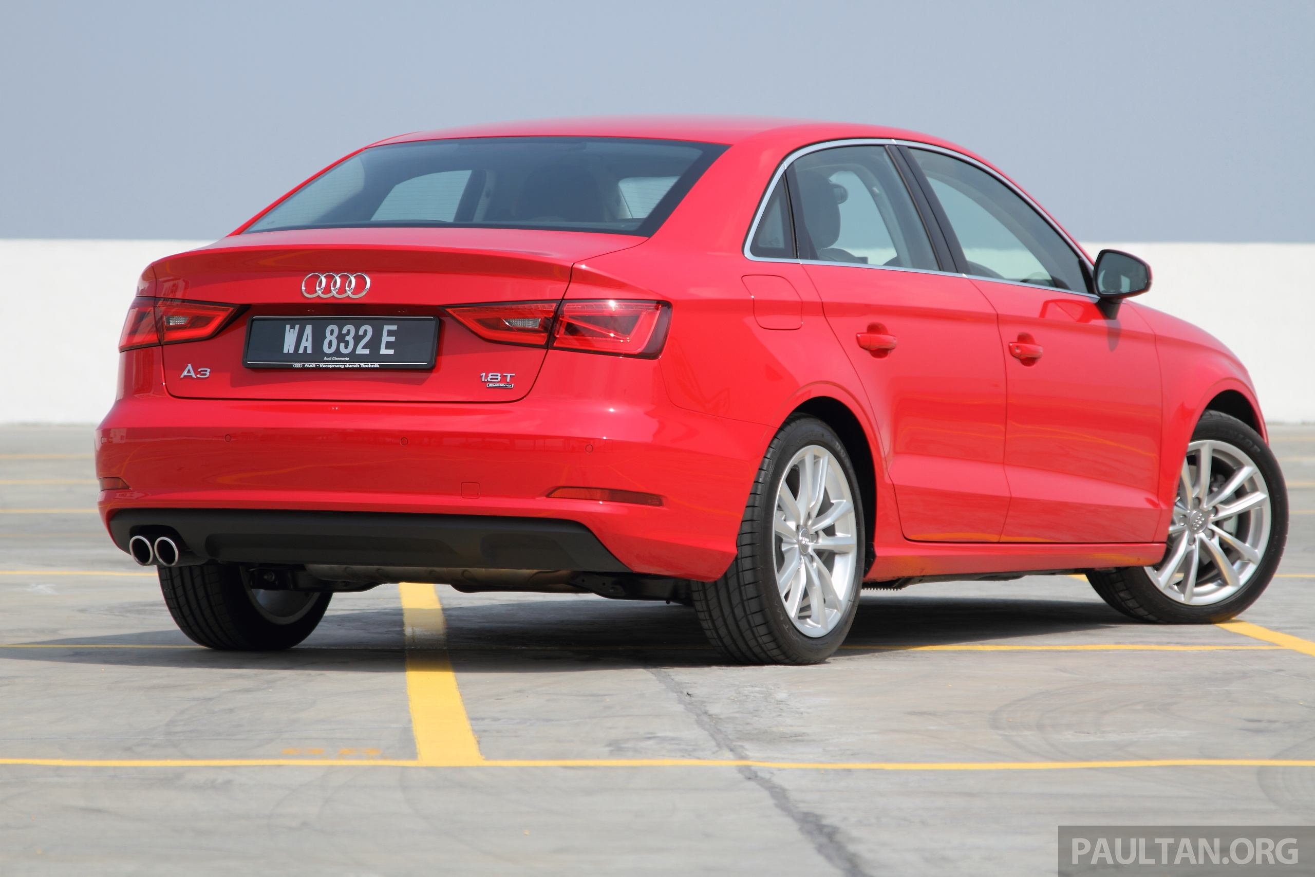 Audi A3 Sedan Now On Sale 2 Variants From Rm180k Paul