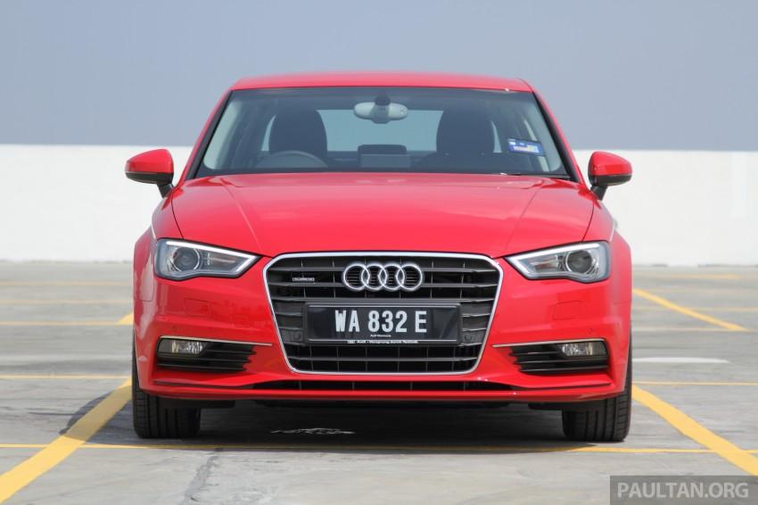 Audi A3 Sedan now on sale – 2 variants, from RM180k Image #261484