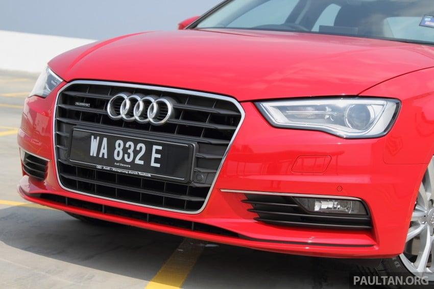 Audi A3 Sedan now on sale – 2 variants, from RM180k Image #261487