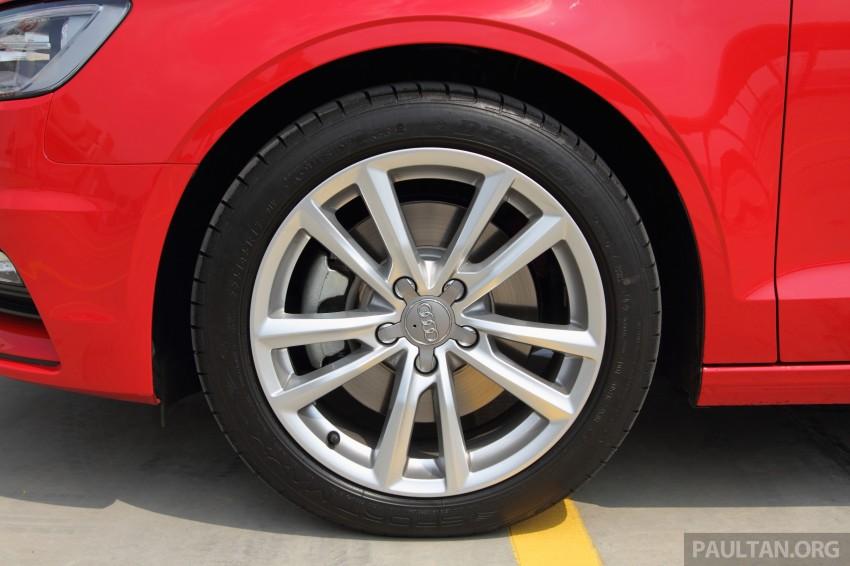 Audi A3 Sedan now on sale – 2 variants, from RM180k Image #261488
