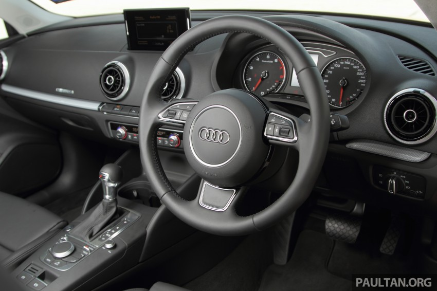 Audi A3 Sedan now on sale – 2 variants, from RM180k Image #261491