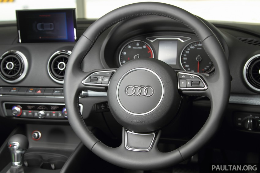 Audi A3 Sedan now on sale – 2 variants, from RM180k Image #261492