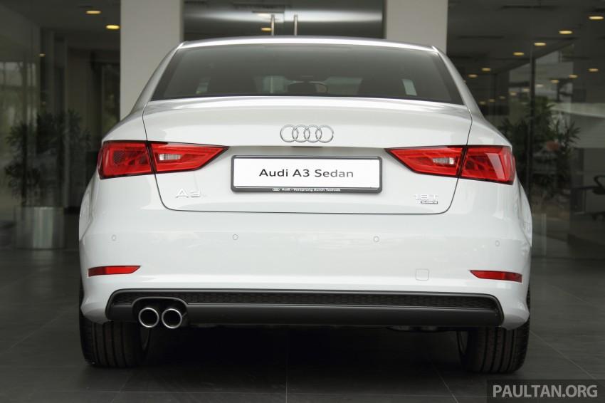 Audi A3 Sedan now on sale – 2 variants, from RM180k Image #261507