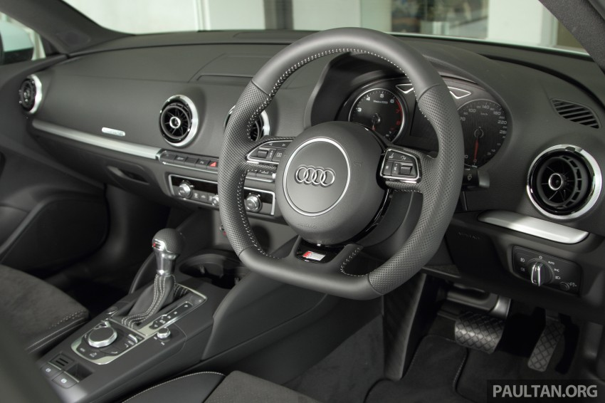 Audi A3 Sedan now on sale – 2 variants, from RM180k Image #261512