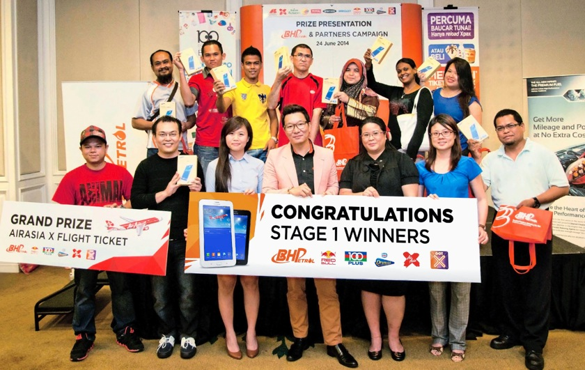 BHPetrol & Partners contest – lucky winners rewarded Image #264408
