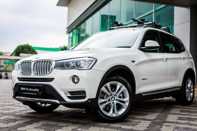 BMW Malaysia Has Introduced The F25 X3 LCI In Country Like Pre Facelift Is Locally Assembled Kulim Kedah