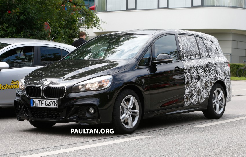 SPIED: 7-seat BMW 2 Series Active Tourer shows face Image #264823
