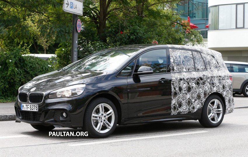 SPIED: 7-seat BMW 2 Series Active Tourer shows face Image #264822