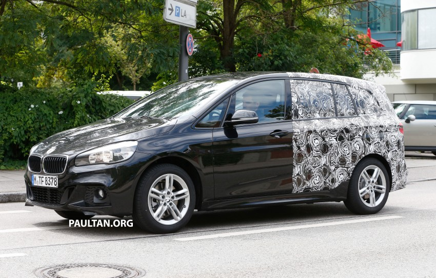 SPIED: 7-seat BMW 2 Series Active Tourer shows face Image #264820