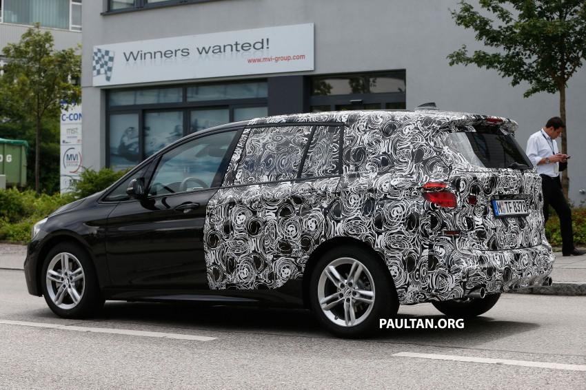 SPIED: 7-seat BMW 2 Series Active Tourer shows face Image #264819