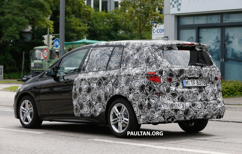 SPIED: 7-seat BMW 2 Series Active Tourer shows face Image #264818