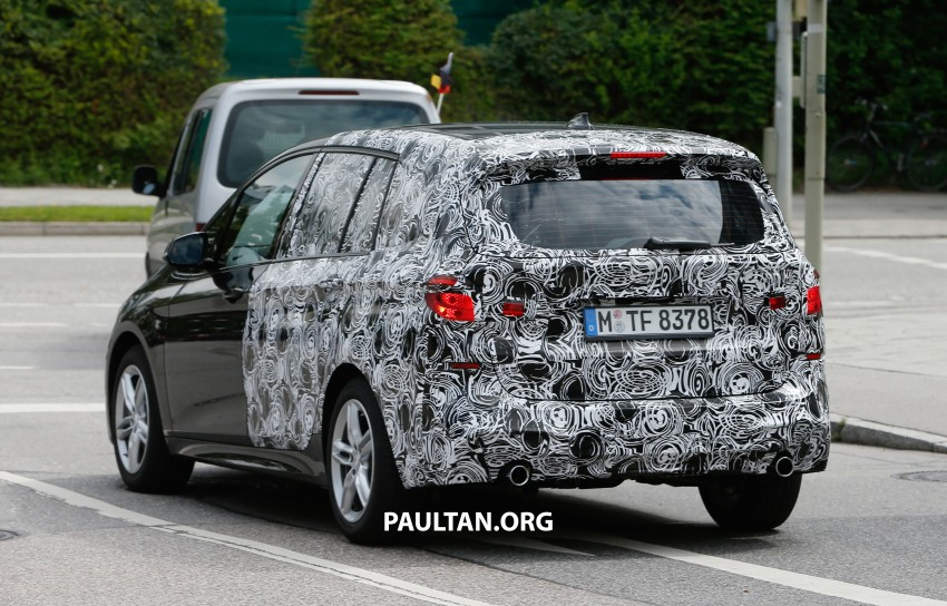 SPIED: 7-seat BMW 2 Series Active Tourer shows face Image #264817
