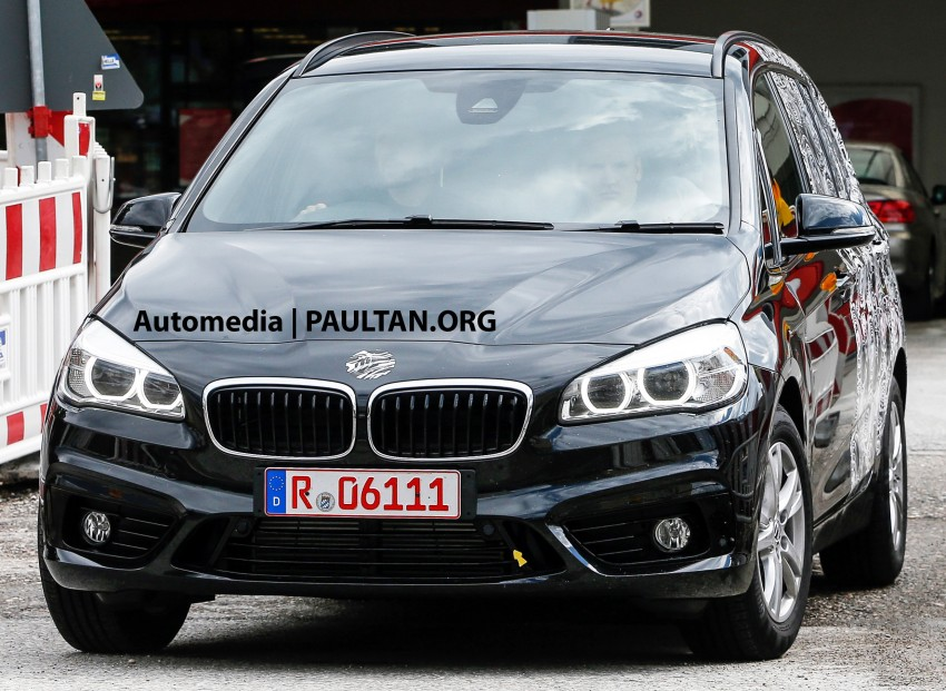 SPIED: 7-seat BMW 2 Series Active Tourer shows face Image #264774
