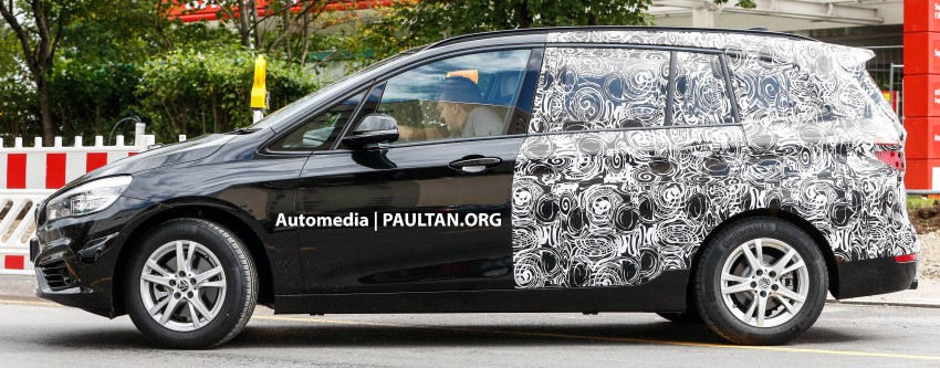 SPIED: 7-seat BMW 2 Series Active Tourer shows face Image #264776
