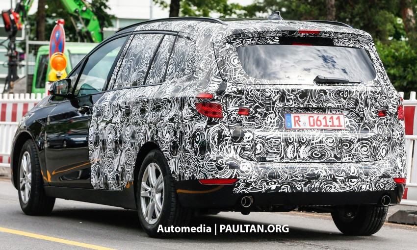 SPIED: 7-seat BMW 2 Series Active Tourer shows face Image #264778