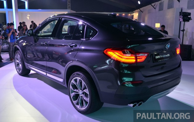 Bmw X4 Launched In Malaysia Xdrive28i Rm439k