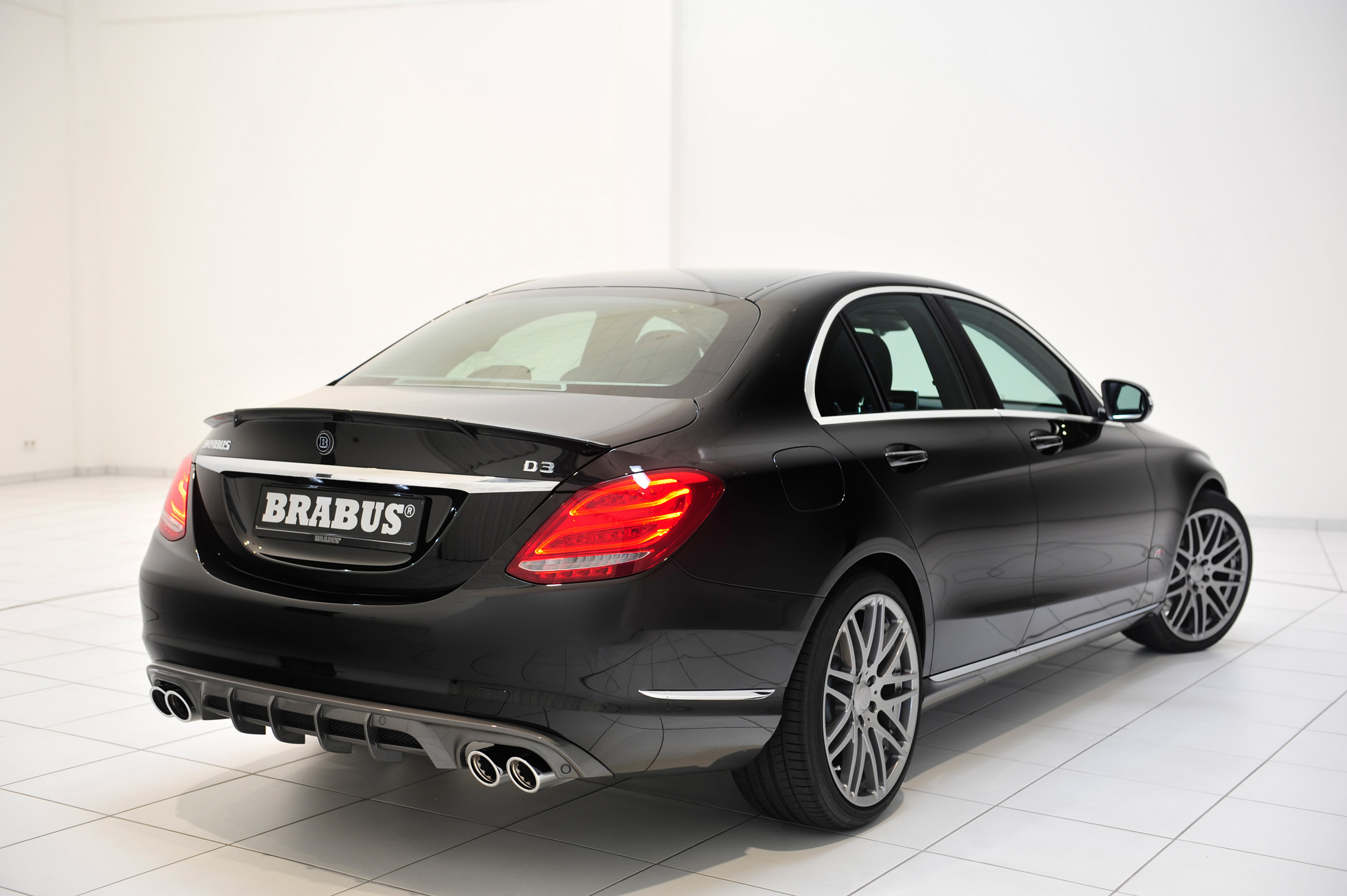 Brabus w205 mercedes benz c class bodykit unveiled image for Mercedes benz w205