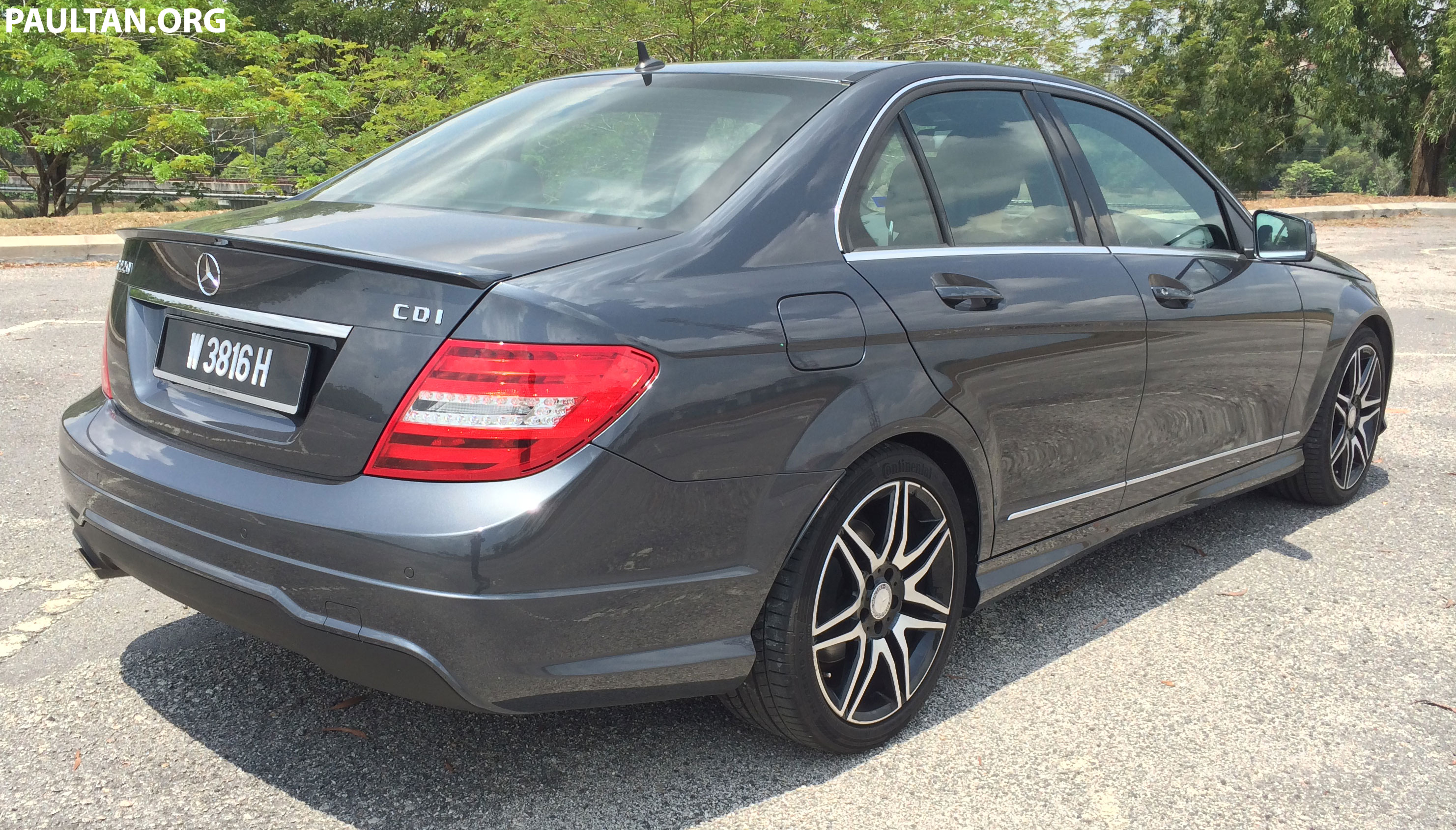 Mercedes benz c220 cdi amg sport passes diesel quality for Mercedes benz diesel cars for sale