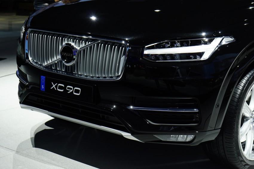 2015 Volvo XC90 – second-gen 7-seat SUV unveiled Image #277749