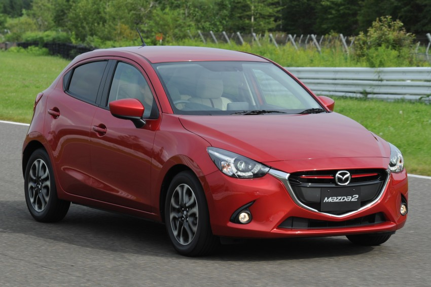 DRIVEN: 2015 Mazda 2 1.5 SkyActiv-G previewed in Japan – a supermini with sports car ambitions Image #265674