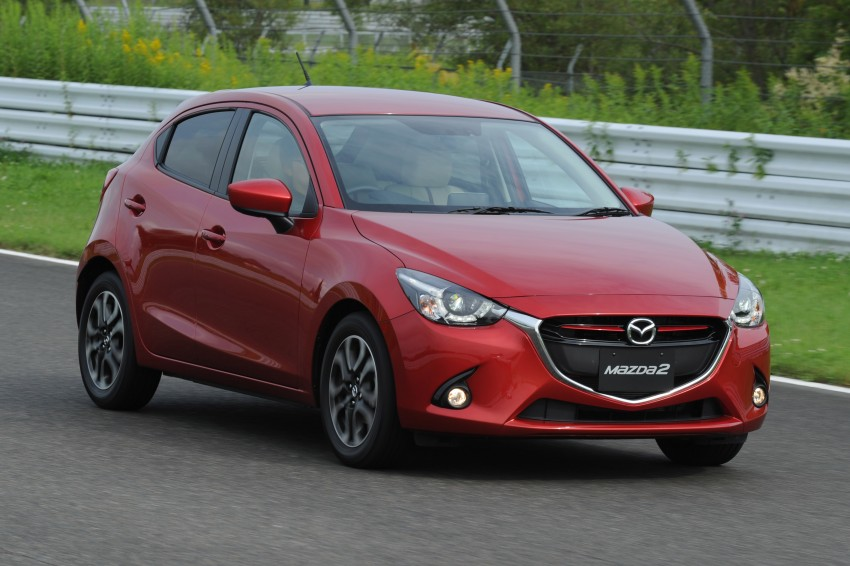 DRIVEN: 2015 Mazda 2 1.5 SkyActiv-G previewed in Japan – a supermini with sports car ambitions Image #265676