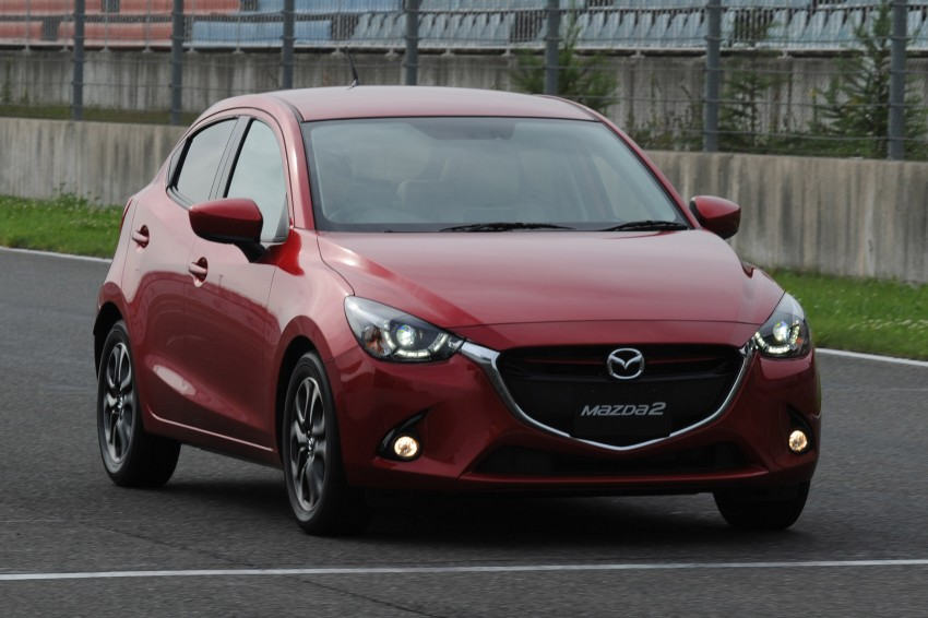 DRIVEN: 2015 Mazda 2 1.5 SkyActiv-G previewed in Japan – a supermini with sports car ambitions Image #265677