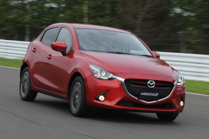 DRIVEN: 2015 Mazda 2 1.5 SkyActiv-G previewed in Japan – a supermini with sports car ambitions Image #265678