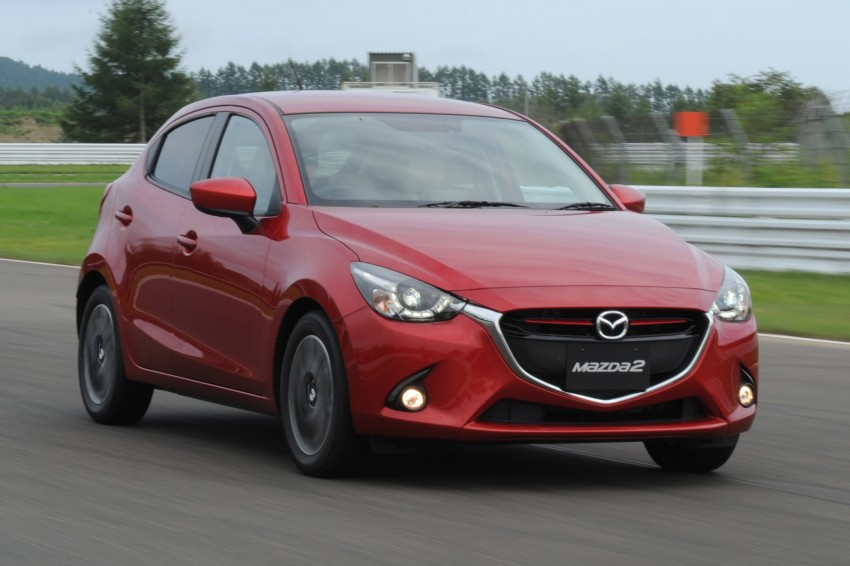 DRIVEN: 2015 Mazda 2 1.5 SkyActiv-G previewed in Japan – a supermini with sports car ambitions Image #265680