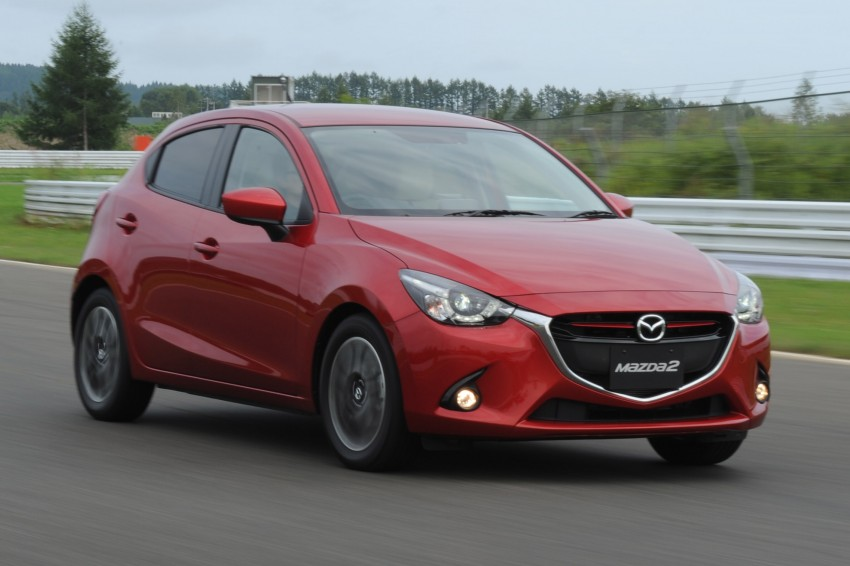 DRIVEN: 2015 Mazda 2 1.5 SkyActiv-G previewed in Japan – a supermini with sports car ambitions Image #265681